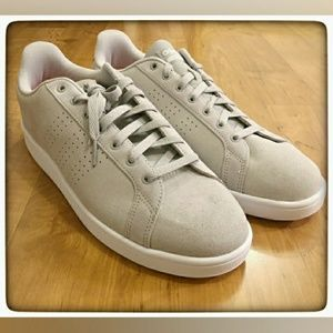 Grey Adidas Cloadfoam Sneaker Sz 8